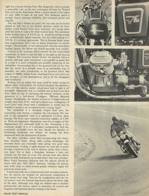 1969 Μoto Guzzi 750 Ambassador
