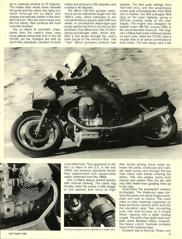 1983 Μoto Guzzi Lemans III