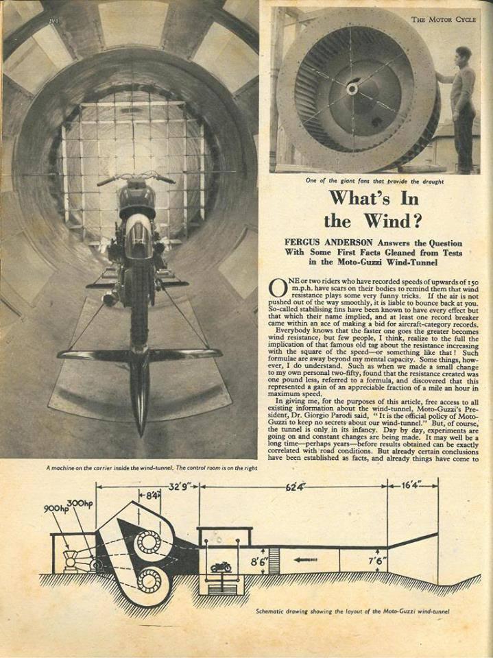 Moto Guzzi- Wind Tunnel